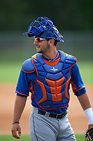 New York Mets Tyler Moore (21) during a minor league Spring Training game against the St. Louis Cardinals on March 31, 2016 at Roger Dean Sports Complex in Jupiter, Florida.  (Mike Janes/Four Seam Images)