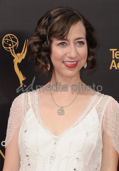 11 September 2016 - Los Angeles, California. Kristen Schaal. 2016 Creative Arts Emmy Awards - Day 2 held at Microsoft Theater. Photo Credit: Birdie Thompson/AdMedia