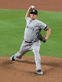 New York Yankees opening pitcher Jonathan Holder (56) against the Baltimore Orioles at Oriole Park at Camden Yards in Baltimore, MD on Tuesday, August 6, 2019.<br /> Credit: Ron Sachs / CNP<br /> (RESTRICTION: NO New York or New Jersey Newspapers or newspapers within a 75 mile radius of New York City)