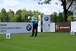 Damien McGrane (IRL) tees off on the 8th tee during Day 2 of the BMW International Open at Golf Club Munchen Eichenried, Germany, 24th June 2011 (Photo Eoin Clarke/www.golffile.ie)