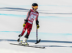 PyeongChang 11/3/2018 - Frederique Turgeon skis in the women's standing super-G at the Jeongseon Alpine Centre during the 2018 Winter Paralympic Games in Pyeongchang, Korea. Photo: Dave Holland/Canadian Paralympic Committee