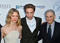 """Mia Wasikowska, Robert Pattinson & Robert Forster at the premiere for """"Damsel"""" at the Arclight Hollywood, Los Angeles, USA 13 June 2018<br /> Picture: Paul Smith/Featureflash/SilverHub 0208 004 5359 sales@silverhubmedia.com"""