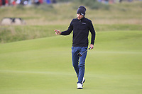 Joakim Lagergren (SWE) on the 15th green during Round 4 of the Alfred Dunhill Links Championship 2019 at St. Andrews Golf CLub, Fife, Scotland. 29/09/2019.<br /> Picture Thos Caffrey / Golffile.ie<br /> <br /> All photo usage must carry mandatory copyright credit (© Golffile | Thos Caffrey)