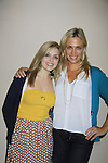 """General Hospital's Kelly Sullivan """"Kate""""( R) and Jen Lilley """"ex-Maxie"""" at Uncle Vinnie's Comedy Club on September 9, 2012 in Pt. Pleasant, New Jersey to see their fans for autographs, meet/greet and photos.  (Photo by Sue Coflin/Max Photos)"""