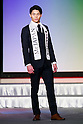 Mister Japan 2016 winner Masaya Yamagishi, competes in the finals of Mister Japan 2016 at Hotel Chinzanso Tokyo on March 1, 2016, Tokyo, Japan. Yamagishi was elected Mister Japan 2016, and will compete in the next edition of Mister International. (Photo by Rodrigo Reyes Marin/AFLO)