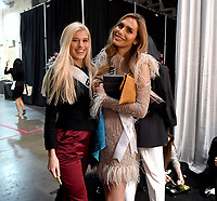 BANGKOK, THAILAND - DECEMBER 16: 2018 MISS UNIVERSE: Miss Germany Céline Flores Willers and Miss Spain Angela Ponce during rehearsals for the 2018 MISS UNIVERSE competition at the Impact Arena in Bangkok, Thailand on December 16, 2018. Miss Universe will air live on Sunday, Dec. 16 (7:00-10:00 PM ET live/PT tape-delayed) on FOX.  (Photo by Frank Micelotta/FOX/PictureGroup)
