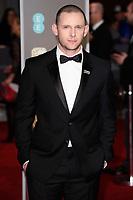 Jamie Bell<br /> arriving for the BAFTA Film Awards 2018 at the Royal Albert Hall, London<br /> <br /> <br /> ©Ash Knotek  D3381  18/02/2018