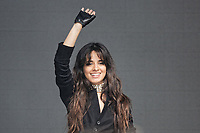 Pictured: Camila Cabello. Sunday 27 May 2018<br /> Re: BBC Radio 1 Biggest Weekend at Singleton Park in Swansea, Wales, UK.