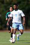 02 September 2013: North Carolina's Jordan McCrary. The University of North Carolina Tar Heels hosted the Coastal Carolina University Chanticleers at Fetzer Field in Chapel Hill, NC in a 2013 NCAA Division I Men's Soccer match. UNC won the game 4-0.