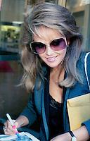 Charlene Tilton 1985 by Jonathan Green