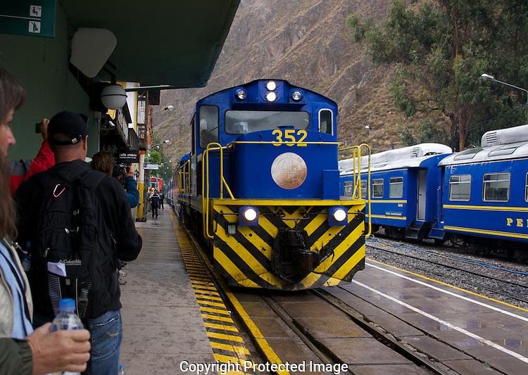 The Vista Dome train to Machu Picchu.