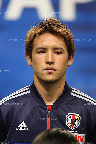Hajime Hosogai (JPN), .FEBRUARY 6, 2013 - Football / Soccer : .KIRIN Challenge Cup 2013 Match between Japan 3-0 Latvia .at Home's Stadium Kobe in Hyogo, Japan. .(Photo by Akihiro Sugimoto/AFLO SPORT)