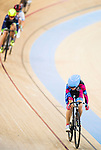 Chiu Vivien of R3-Cycling Team competes during the Women 10km Point Race at the Hong Kong Track Cycling Race 2017 Series 5 on 18 February 2017 at the Hong Kong Velodrome in Hong Kong, China. Photo by Marcio Rodrigo Machado / Power Sport Images