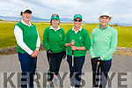 Tralee Golf Club Ladies members taking part in Junior Foursomes on Saturday morning at the club.<br /> L to r: Brid Halloway, Joan Costello, Karen Gearon and Ber Walsh