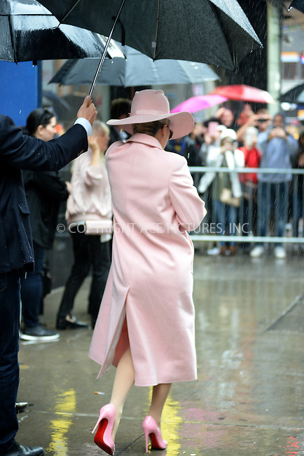 www.acepixs.com<br /> October 21, 2016 New York City<br /> <br /> Lady Gaga was seen leaving GMA on October 21, 2016 in New York City.<br /> <br /> Credit: Kristin Callahan/ACE<br /> <br /> <br /> Tel: (646) 769 0430<br /> e-mail: info@acepixs.com