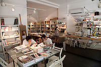 Dukou Bookstore on Julu Road. Series of images looking at 'Trendy Shanghai' By Jonathan Browning.