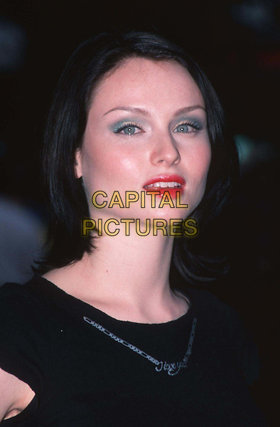 SOPHIE ELLIS BEXTOR - SPILLER.Ref: 11004.red lips, headshot, portrait.*RAW SCAN - photo will be adjusted for publication*.www.capitalpictures.com.sales@capitalpictures.com.© Capital Pictures