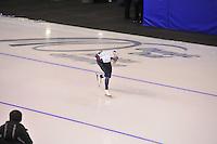 SPEEDSKATING: CALGARY: 13-11-2015, Olympic Oval, ISU World Cup, 5000m, Bart Swings (BEL), ©foto Martin de Jong