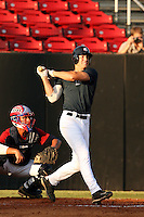 September 14, 2009:  Nick Delmonico, one of many top prospects in action, taking part in the 18U National Team Trials at NC State's Doak Field in Raleigh, NC.  Photo By David Stoner / Four Seam Images