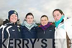 Happy Fans: Karen Kelliher, Jennifer Ryan, Rebecca Ryan & Kate Sayers  attending Listowel Celtic's win over Roscommon Town at Pat Kennedy Park, tanavalla, Liostowel on Sunday.