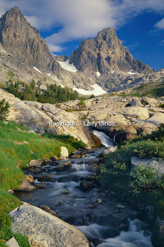 Mt. Ritter and Banner Peak<br />
