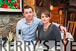 New Year's Eve: Celebrating the new year at Mai Fitz's Restaurant, Listowel wereDavid & Cliona Quaid, Athea.