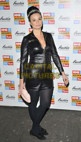 LONDON, ENGLAND - FEBRUARY 18: Gizzi Erskine attends the NME Awards 2015, O2 Academy Brixton, Stockwell Rd., on Wednesday February 18, 2015 in London, England, UK. <br /> CAP/CAN<br /> &copy;CAN/Capital Pictures