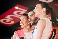 Fernando Gaviria (COL/Quick-Step Floors) & the podium misses<br /> <br /> 100th Giro d'Italia 2017<br /> Stage 13: Reggio Emilia › Tortona (167km)
