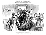 """Essence of Parliament. (Extracted from the diary of Toby, MP.) Another Injustice to Women. Indignant chorus. """"We'll soon alter that!"""""""