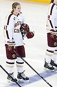 Lauren Wedell (BC - 11) - The Boston College Eagles defeated the Northeastern University Huskies 3-0 on Tuesday, February 11, 2014, to win the 2014 Beanpot championship at Kelley Rink in Conte Forum in Chestnut Hill, Massachusetts.