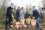 Welsh Water<br /> Students visit to Cilfynydd<br /> L-R: Jonathan Shivers, Sara Williams, Bethany Southall, Paula Watts &amp; James Ward<br /> 27.03.15<br /> &copy;Steve Pope - FOTOWALES
