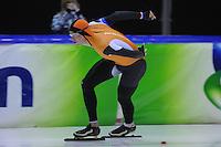 SCHAATSEN: HEERENVEEN: 01-02-2014, IJsstadion Thialf, Olympische testwedstrijd Sven Kramer, ©foto Martin de Jong