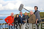 Duncoun Stewart, Alyson Healy, Padraig Hanrahan, Maria Ismair, Michael Lemass, and Peter Dorney. filming at the nun's strand in Ballybunion on Sunday morning. ..   Copyright Kerry's Eye 2008