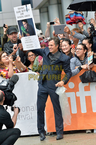 10 September 2014 - Toronto, Canada - Mark Ruffalo. &quot;Infinitely Polar Bear&quot; Premiere during the 2014 Toronto International Film Festival held at Roy Thomson Hall.  <br /> CAP/ADM/BPC<br /> &copy;Brent Perniac/AdMedia/Capital Pictures