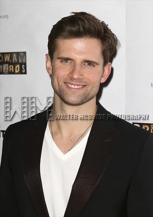 "Kyle Dean Massey attends the ""Broadway Backwards"" After Party Reception  at John's Restaurant on March 24, 2014 in New York City."