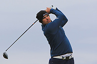 Nacho Elvira (ESP) on the 16th tee during round 4 of the Alfred Dunhill Links Championship at Old Course St. Andrew's, Fife, Scotland. 07/10/2018.<br /> Picture Thos Caffrey / Golffile.ie<br /> <br /> All photo usage must carry mandatory copyright credit (&copy; Golffile | Thos Caffrey)