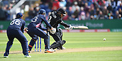 Jun 6th, The SSE SWALEC, Cardiff, Wales; ICC Champions Trophy; England versus New Zealand; Ross Taylor of New Zealand drives the ball on the off side