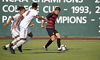 Stanford, CA; August 18, 2018; Men's Soccer, Stanford vs CSUN.