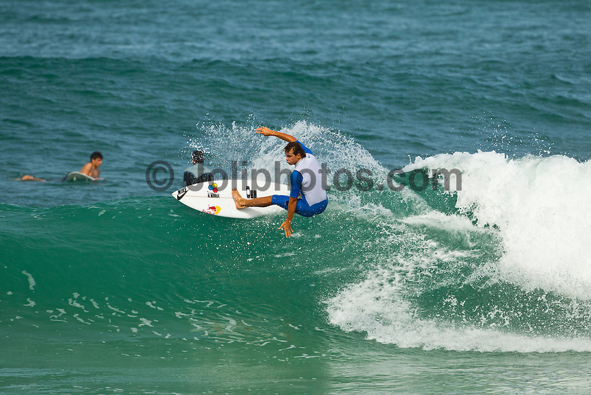 North Shore/Oahu/Hawaii (Saturday, December 3, 2011)  Julian Wilson (AUS) during a free surfing session in 4'-6' waves at Off The Wall  and Backdoor on the North Shore.. Photo: joliphotos.com