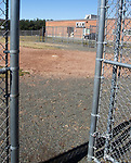 WATERBURY CT. - 18 March 2020-031820SV10-No baseball being played on the baseball field at Watertown High School in Watertown Wednesday.<br /> Steven Valenti Republican-American