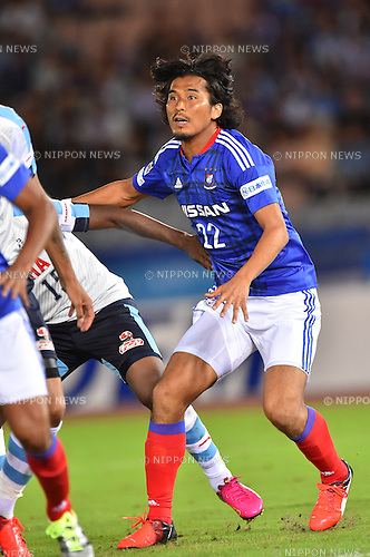Yuji Nakazawa (F Marinos),<br /> JULY 23, 2016 - Football / Soccer :<br /> 2016 J1 League 2nd stage match between Yokohama F Marinos 1-1 Jubilo Iwata at Nissan Stadium in Kanagawa, Japan. (Photo by AFLO)
