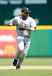 18 June 2006: Robinson Cano, second baseman for the New York Yankees, in action against the Washington Nationals at RFK Stadium, in Washington, DC. The Nationals defeated the Yankees 3-2 in the third game of the interleague series...Mandatory Photo Credit: Ed Wolfstein Photo...