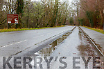 the poor surface on the Ross Road Killarney