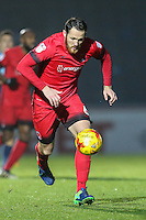Tom Parkes of Leyton Orient (6) during the Sky Bet League 2 match between Wycombe Wanderers and Leyton Orient at Adams Park, High Wycombe, England on 17 December 2016. Photo by David Horn / PRiME Media Images.