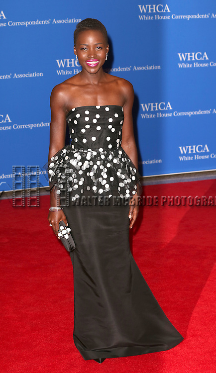 Lupita Nyong'o attends the 100th Annual White House Correspondents' Association Dinner at the Washington Hilton on May 3, 2014 in Washington, D.C.