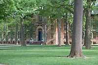 Grounds in front of Nassau Hall, Princeton University, Princeton, New Jersey