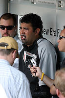 August 15 2008:  Manager Ozzie Guillen of the Chicago White Sox during a game at U.S. Cellular Field in Chicago, IL.  Photo by:  Mike Janes/Four Seam Images