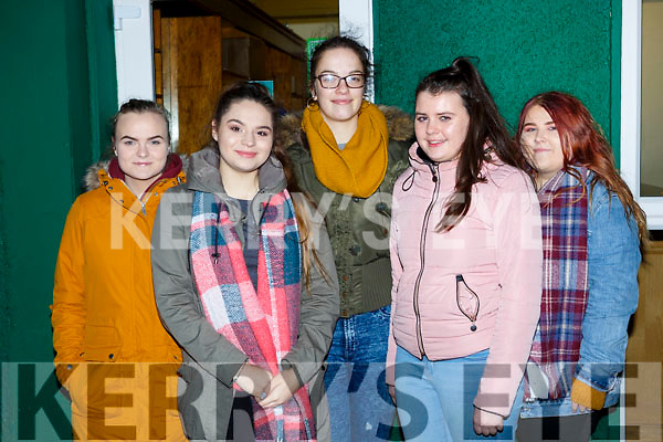 Enjoying the Cork Youth Choir concert in aid of the Children on Chernobyl in Killarney Racecourse on Sunday night l-r: Victoria Krol, Natalia Weglarz, Maria O'Donoghue, Laura Kenny and Victoria Bankosz