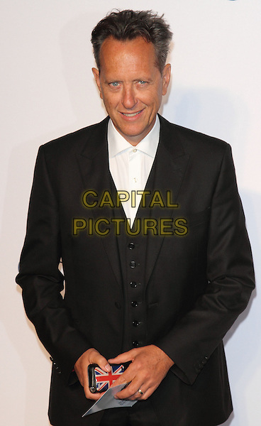 Richard E. Grant<br /> UK Premiere of 'Blue Jasmine' at the Odeon West End, Leicester Square. London, England.<br /> 17th September 2013<br /> half length black  suit waistcoat white shirt <br /> CAP/ROS<br /> &copy;Steve Ross/Capital Pictures