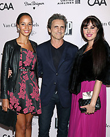 LOS ANGELES - OCT 3:  Cindy Cederlund, Lawrence Bender and guest at the L.A. Dance Project Annual Gala at the Hauser & Wirth on October 3, 2019 in Los Angeles, CA